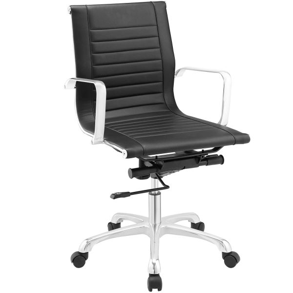 MidBack-A Office Chair - Black