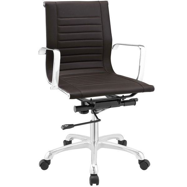 MidBack-A Office Chair - Brown