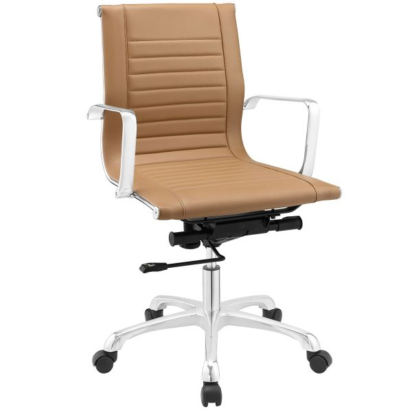 MidBack-A Office Chair - Tan