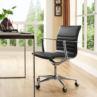 MidBack-B Office Chair - Brown