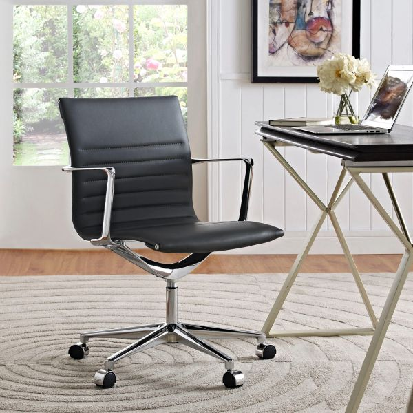 MidBack-B Office Chair - Gray