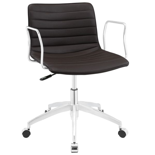 MidBack-C Office Chair - Brown