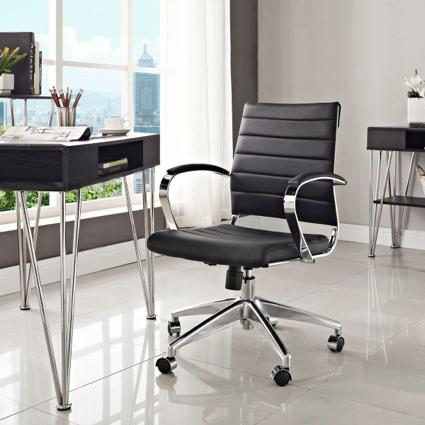 MidBack Office Chair - Black