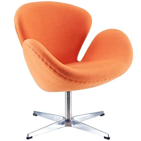 Arne Jacobsen Style Swan Chair - Orange