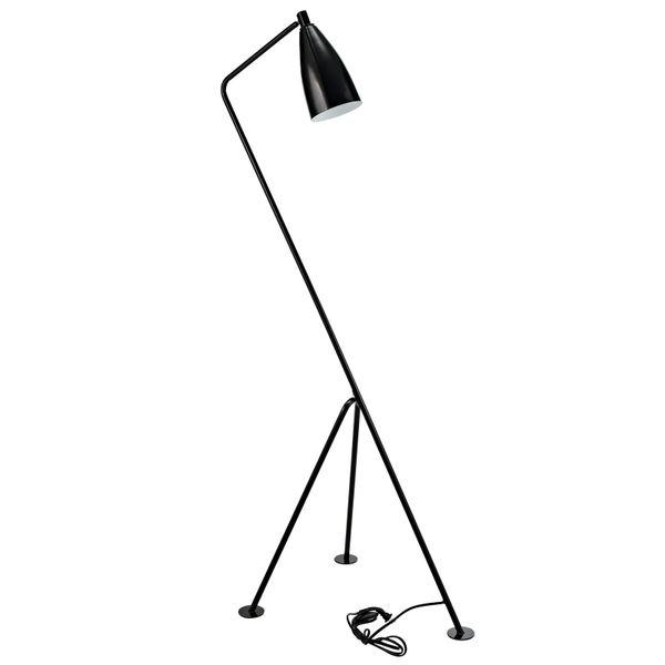 Crane floor Lamp-Black