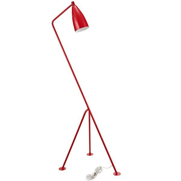 Crane Floor Lamp-Red