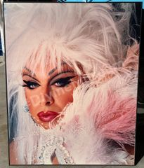 "Divine with feathers 24"" x 30"" Signed and Numbered Special Edition Print"