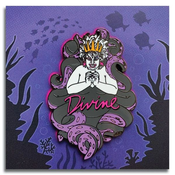 "Divine Sea Queen 2.5"" Enamel Pin"