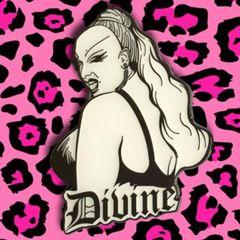 Divine 2.5″ Enamel Pin