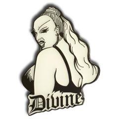 "Divine 2.5"" Enamel Pin"