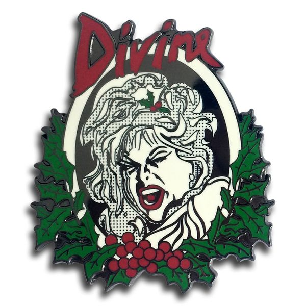 Divine Christmas Deluxe Enamel Pin