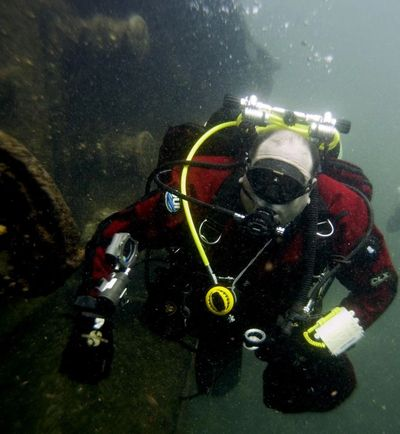 Ed Weeks wreck dive Saint Lawrence Canada