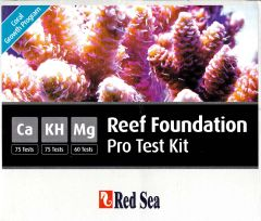 Red Sea Reef Foundation Pro Test Kit. Ca, KH, Mg