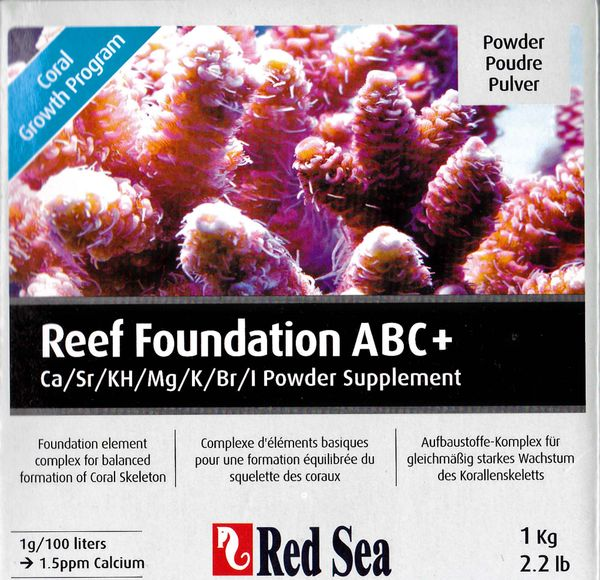 Red Sea Reef Foundation ABC+, 1kg