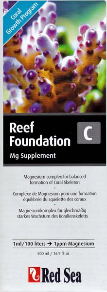 Red Sea Reef Foundation C, Mg Supplement 500ml