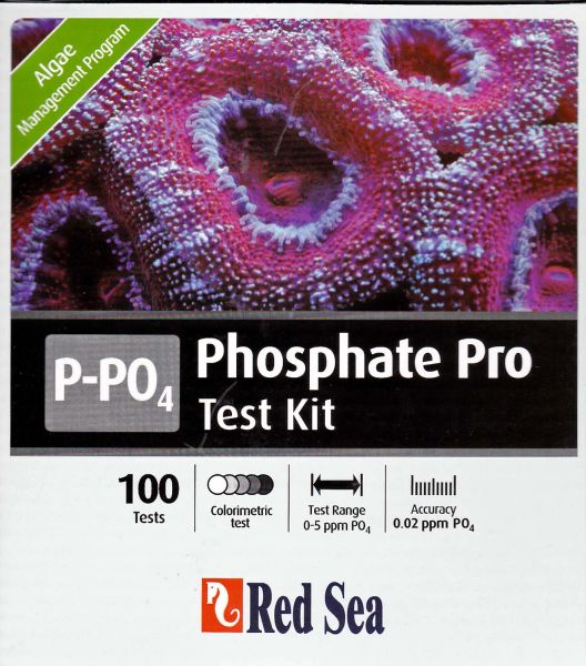 Red Sea Phosphate Pro Test Kit P-PO4