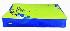 Trixie X-TRM Cushion, Dog Bed, 100x70cm, Blue/Green, Waterproof