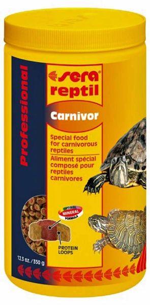 Sera Professional Reptil Carnivor 12.3oz, 350g, 1000ml.