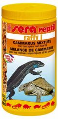 Sera Reptil Raffy I, 1000ml (4.6oz, 130g) Gammarus Mixture.