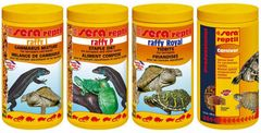 Sera Terrapin/Turtle Mix, Raffy I, Raffy P, Raffy Royal, Professional Carnivor, 4x1000ml