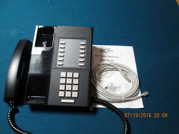 eOn Cortelco Millennium 12 Button Black Phone Brand New From factory