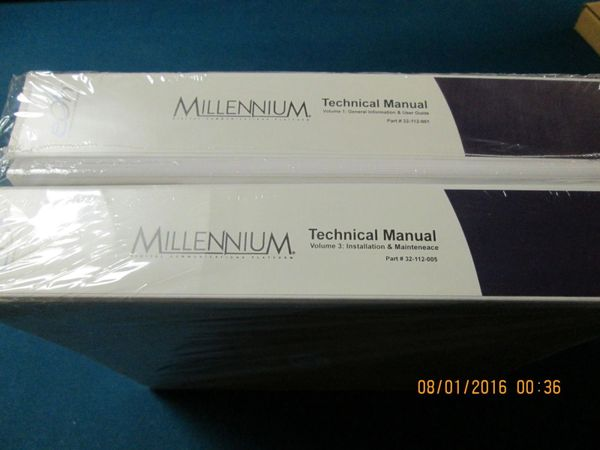 eOn Cortelco Millennium NEW Full Set of Manuals