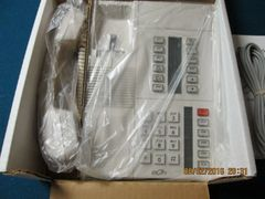 eOn Cortelco NEW 18 Button Pearl Gray 6 Pack Phones