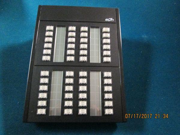 Eon Millennium 48 Button Black Expansion Module DSS BEM New