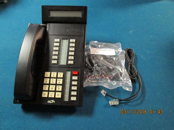 eOn Cortelco Millennium Refurbished 18 Button 4-wire Phone W/2x24 Display