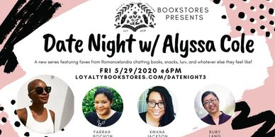 Date Night with Alyssa Cole logo