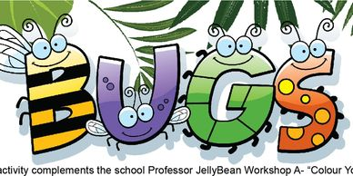 Science experiment for children found within Professor JellyBean's booklet