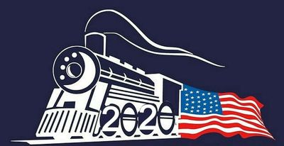 The Towns County Express Trump Train # 2020