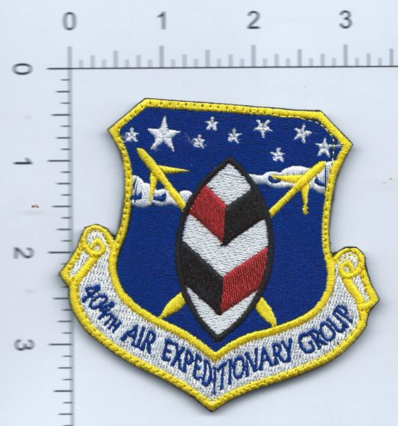 USAF PATCH 404 AIR EXPEDITIONA...