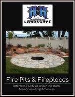 Fire pits, fire places. Entertain & cozy up under the stars, creating nighttime memories by a fire.