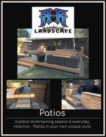Outdoor entertaining instyle. Patios & decks can be simple or grand; cedar & fir, lasting  results.