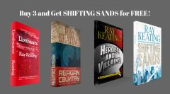 Book of the Month: Buy 3 - LIONHEARTS, REAGAN COUNTRY, AND HEROES AND VILLAINS - and Get SHIFTING SANDS Free - Signed Set
