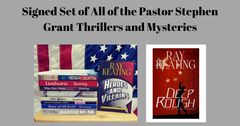 Pastor Stephen Grant Novels and Short Stories - Signed Set - All 11 Adventures, PLUS a Small Surprise Thank You Gift