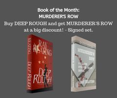 Book of the Month October 2019 - DEEP ROUGH and MURDERER'S ROW - Signed by the Author