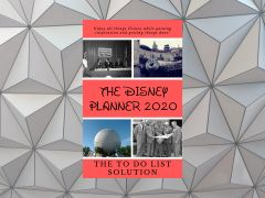 The Disney Planner 2020: The TO DO List Solution - Now Available!