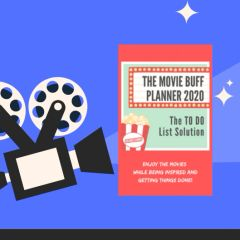 The Movie Buff Planner 2020: The TO DO List Solution - Pre-Order Sale!
