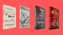 Book of the Month: Buy 3 - THE RIVER, MURDERER'S ROW and WINE INTO WATER - and Get DEEP ROUGH Free - Signed Set