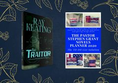 Pre-Order the December Duo 2019 - Two New Pastor Stephen Grant Books – The Traitor: A Pastor Stephen Grant Novel and The Pastor Stephen Grant Novels Planner 2020: The TO DO List Solution – Special Price!