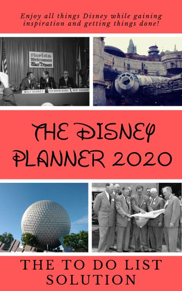 The Disney Planner 2020: The TO DO List Solution