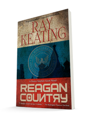 Book of the Month - Reagan Country: A Pastor Stephen Grant Novel - Signed Copy