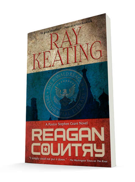 Reagan Country: A Pastor Stephen Grant Novel - Signed Copy