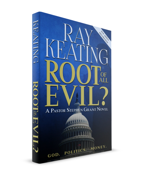 Book of the Month - Root of All Evil? A Pastor Stephen Grant Novel - New Second Edition - Signed Copy