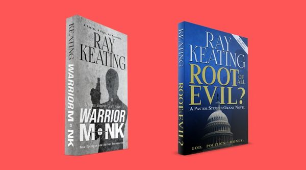 Warrior Monk and Root of All Evil? - New Second Editions - Signed Copies