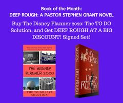 Book of the Month - Buy THE DISNEY PLANNER 2020 and Get DEEP ROUGH at a DEEP DISCOUNT!