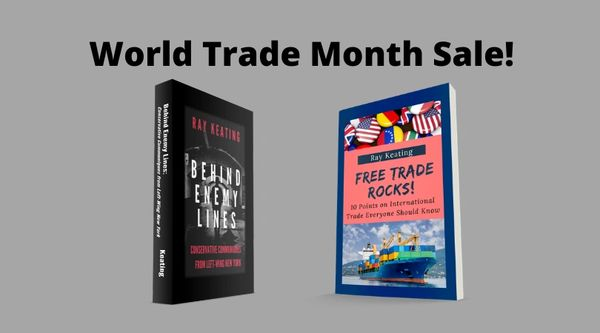 World Trade Month Sale: BEHIND ENEMY LINES and FREE TRADE ROCKS!