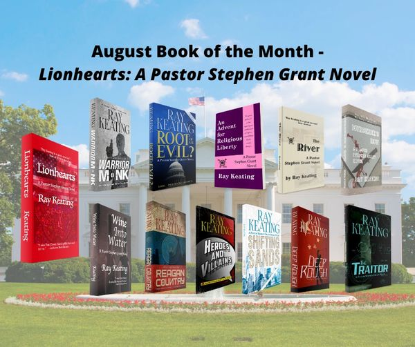Book of the Month - Buy 11 Pastor Stephen Grant Adventures and Get LIONHEARTS for Free - Signed Set